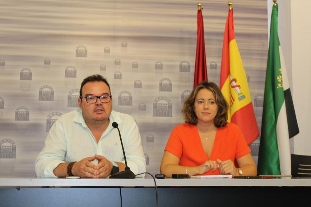 Ana Aragoneses y Marco A. Guijarro