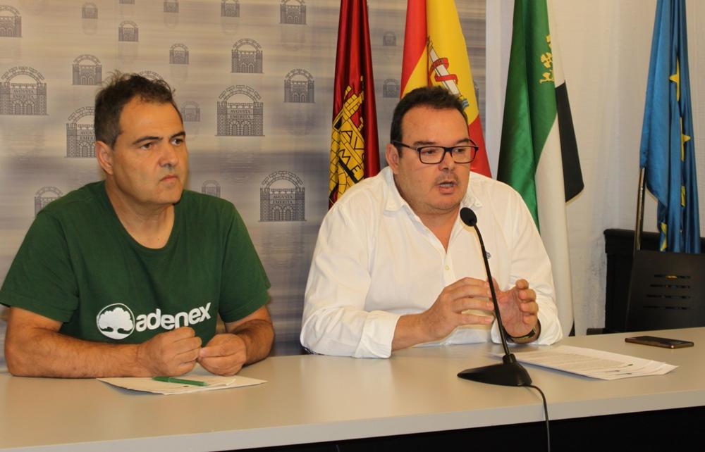 El Ayuntamiento y Adenex realizarán actividades medioambientales durante septiembre
