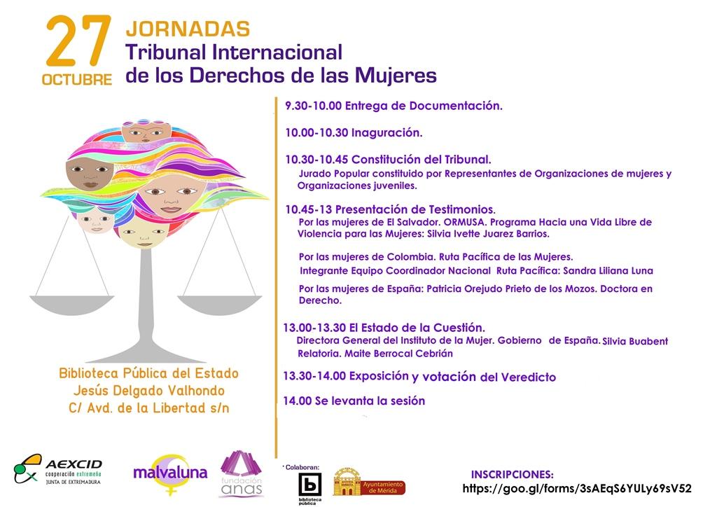 La Biblioteca Jesús Delgado Valhondo acoge mañana el Tribunal Internacional de los Derechos de las Mujeres