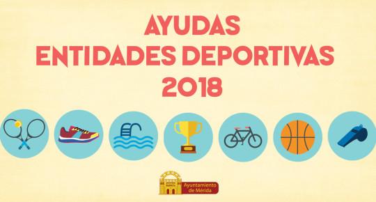 Ayudas Entidades Deportivas 2018