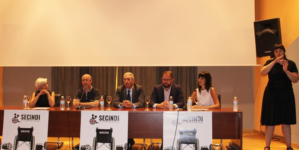 Del 15 al 19 de octubre se celebra SECINDI, Semana de Cine Inclusivo y Discapacidad