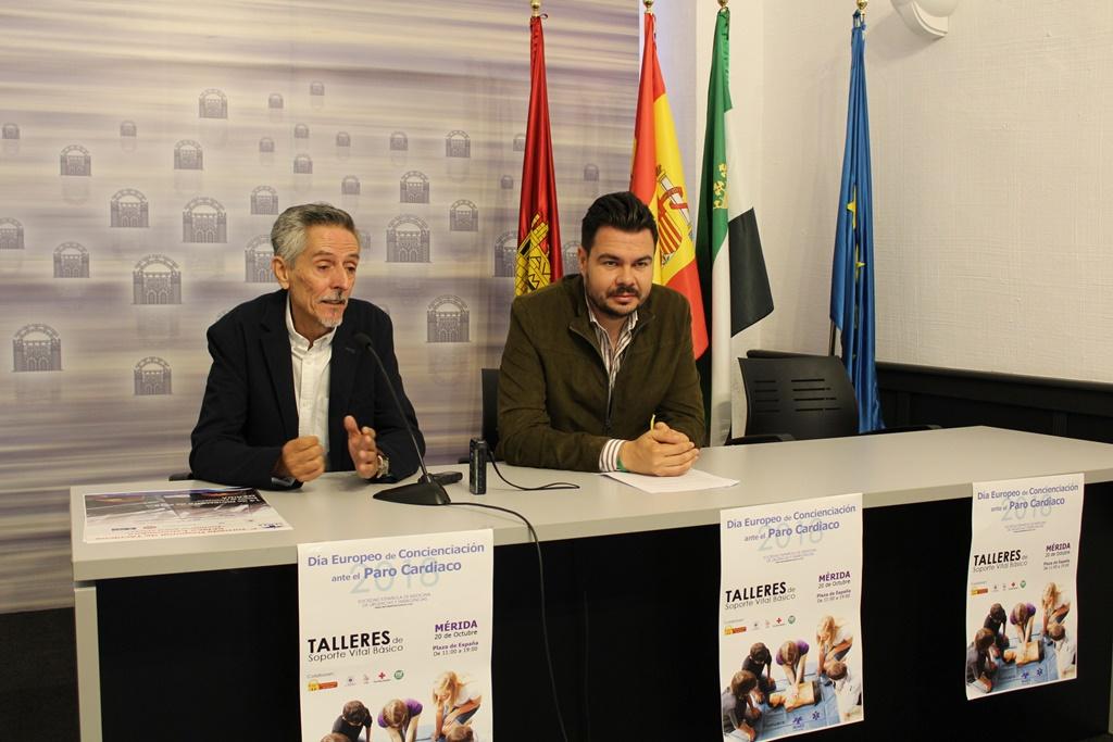 La Plaza de España acoge el sábado el Día Europeo de concienciación ante el Paro Cardiaco