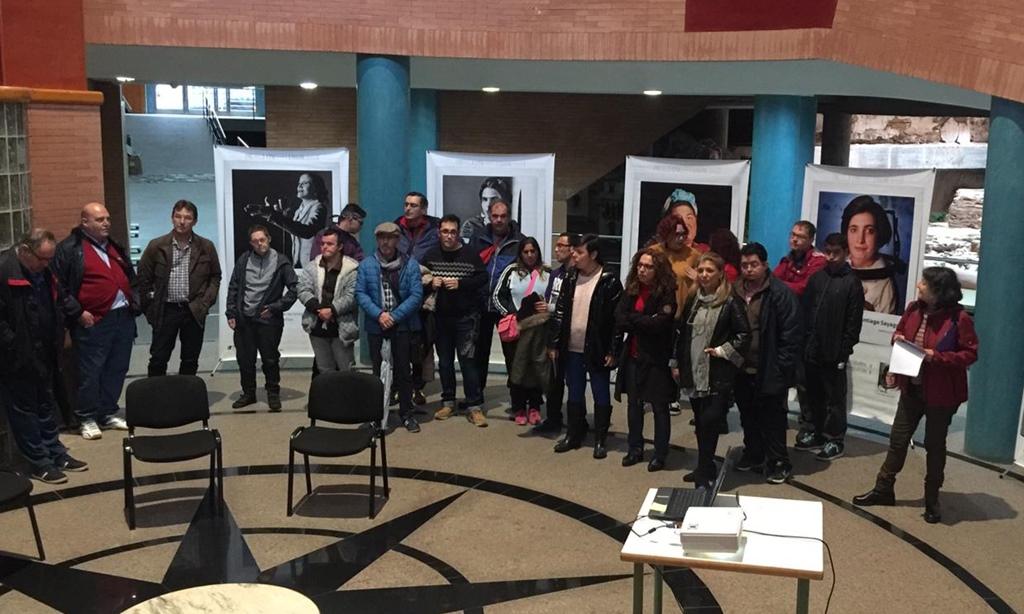 """El Centro Cultural Alcazaba acoge la exposición """"Yo, tú, ellas"""""""