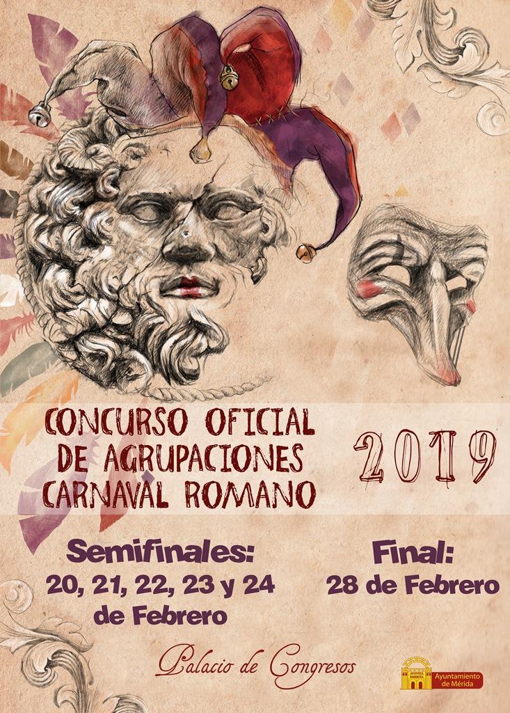Concurso-Carnaval-Romano-2019-cartel