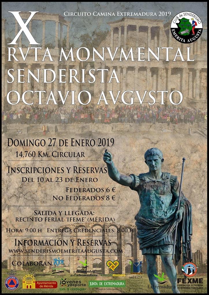 Ruta-Octavio-Augusto-2019-cartel