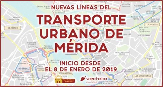 Nuevas Líneas Transporte Urbano