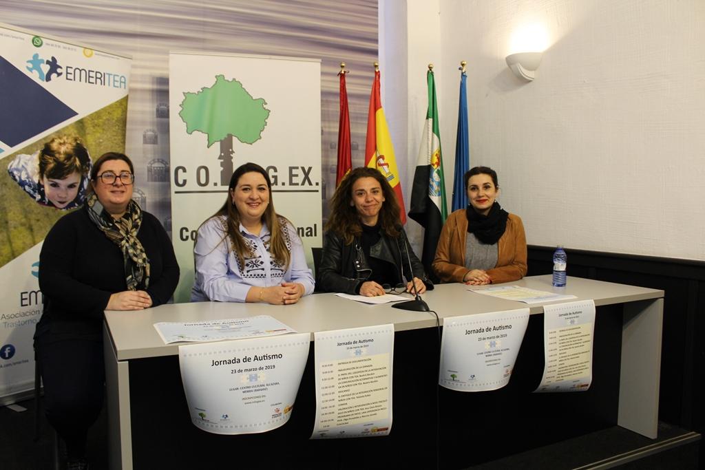 El Colegio Profesional de Logopedas de Extremadura y Emeritea organizan una jornada sobre autismo