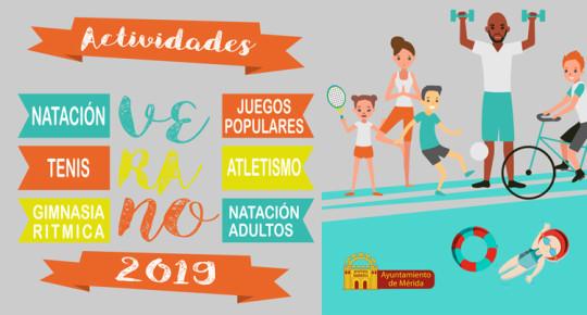 Actividades Deportivas Verano 2019