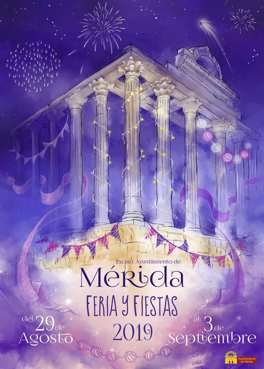 Cartel Ganador ''Nocte Aeterna' de Silvia Panea