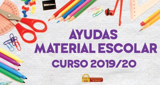Ayudas Material Escolar 2019/20