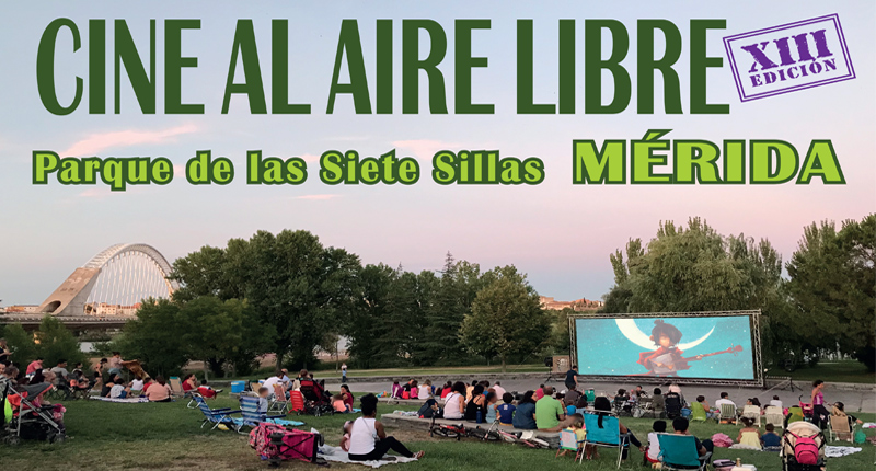 El próximo viernes comienza el Ciclo de cine al aire libre en el auditorio del Parque de las Siete Sillas