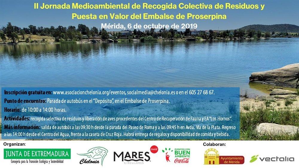 II Jornada Medioambiental de recogida de Residuos y puesta en valor de Proserpina