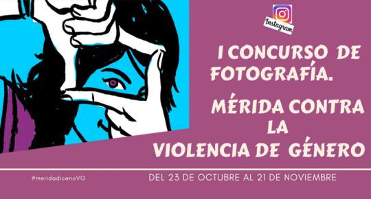 I Concurso de Fotografía #MeridaDiceNoVG