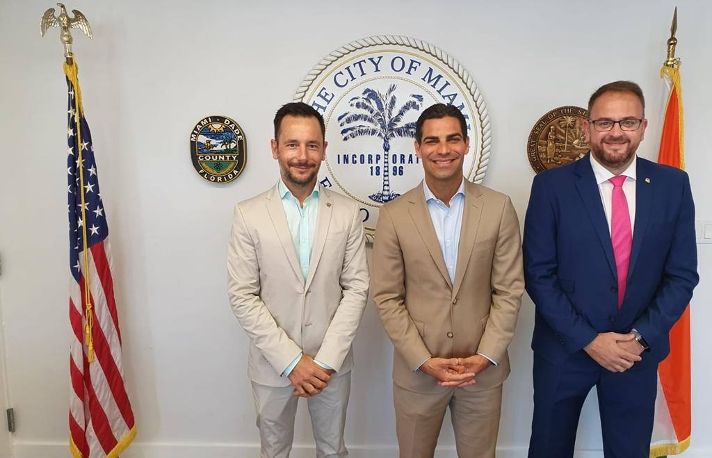El alcalde Antonio Rodríguez Osuna participa en la promoción de Ciudades Patrimonio en Estados Unidos