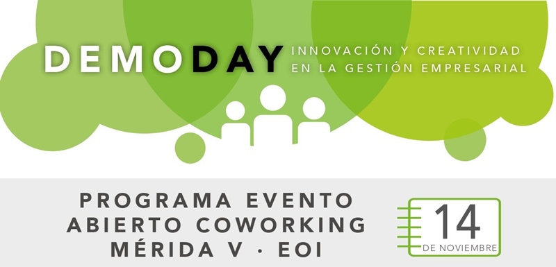El Demoday dará a conocer los proyectos del Espacio Coworking de la EOI