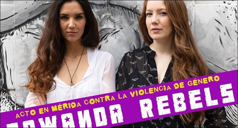 Towanda Rebels ofrecerán una conferencia mañana en un acto contra la Violencia de Género en Mérida