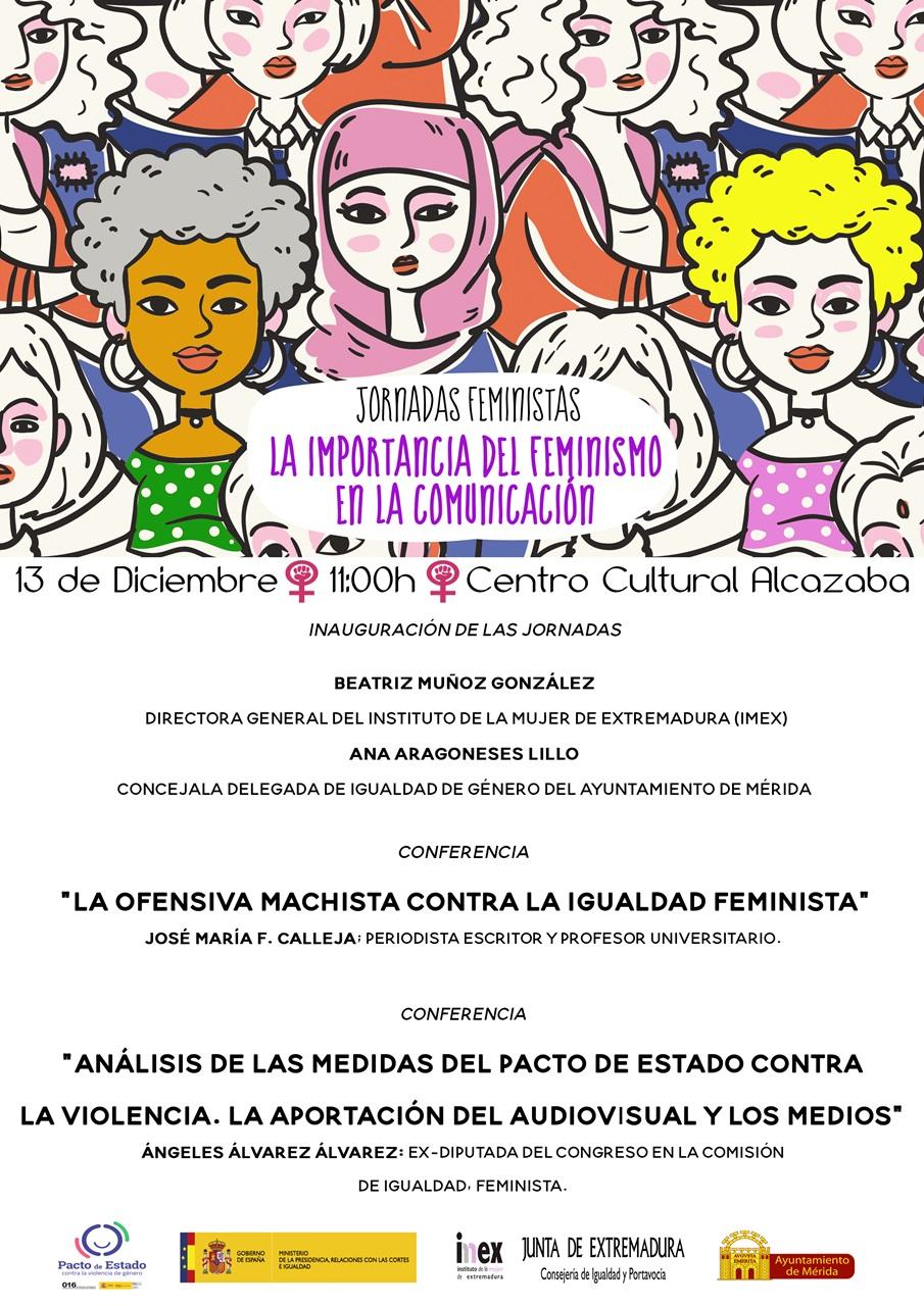 """El Centro Cultural Alcazaba acoge el viernes las jornadas """"La importancia del Feminismo en la Comunicación"""""""