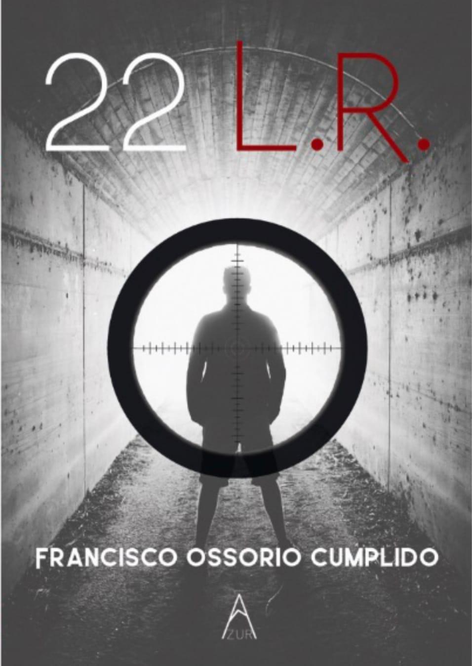 La biblioteca acoge la presentación de la novela «22 L. R.» de Francisco Ossorio Cumplido