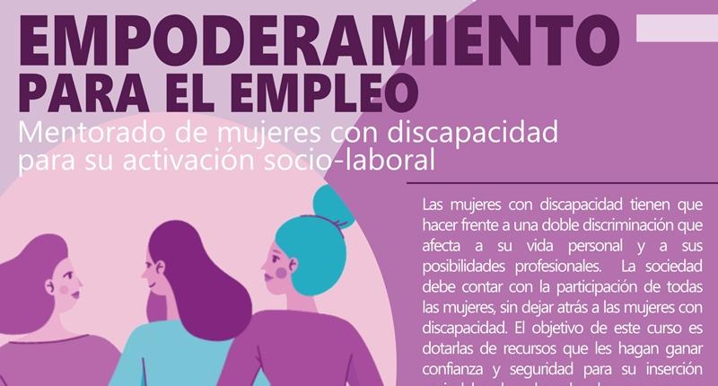 Curso de empoderamiento para mujeres con discapacidad