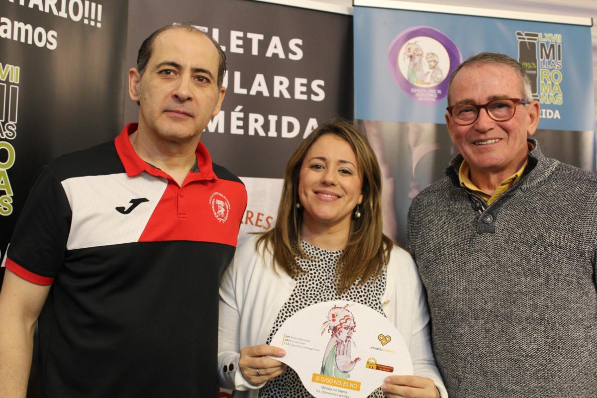 Millas Romanas y Media Maratón se adhieren a la campaña contra las agresiones sexistas