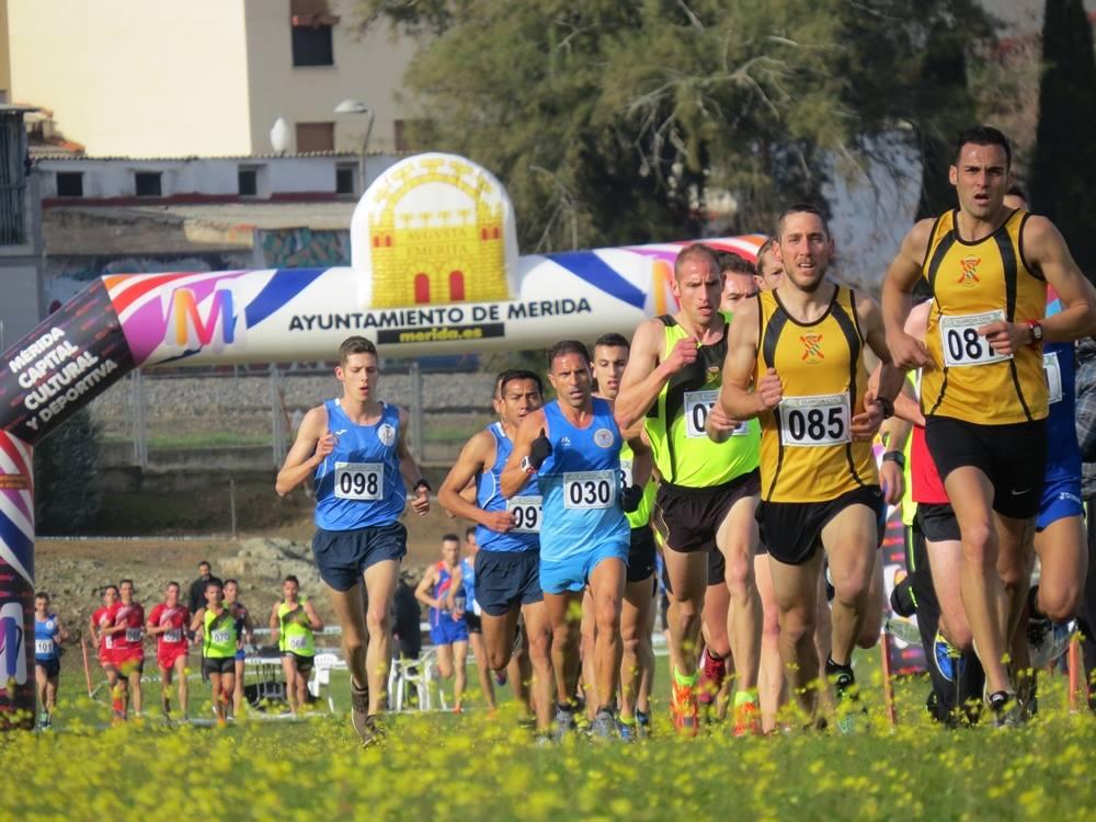 56º Campeonato Militar de Campo a Través celebrado en Mérida en 2018
