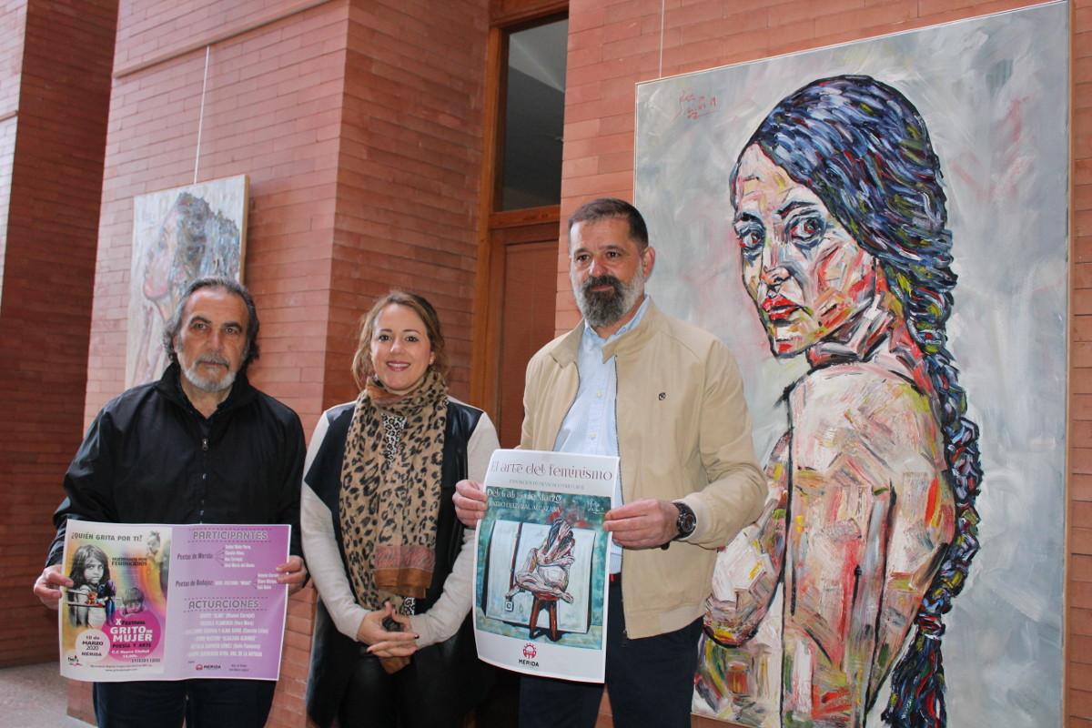 «El arte del feminismo» y el Festival «Grito de Mujer» dentro de las actividades del 8M