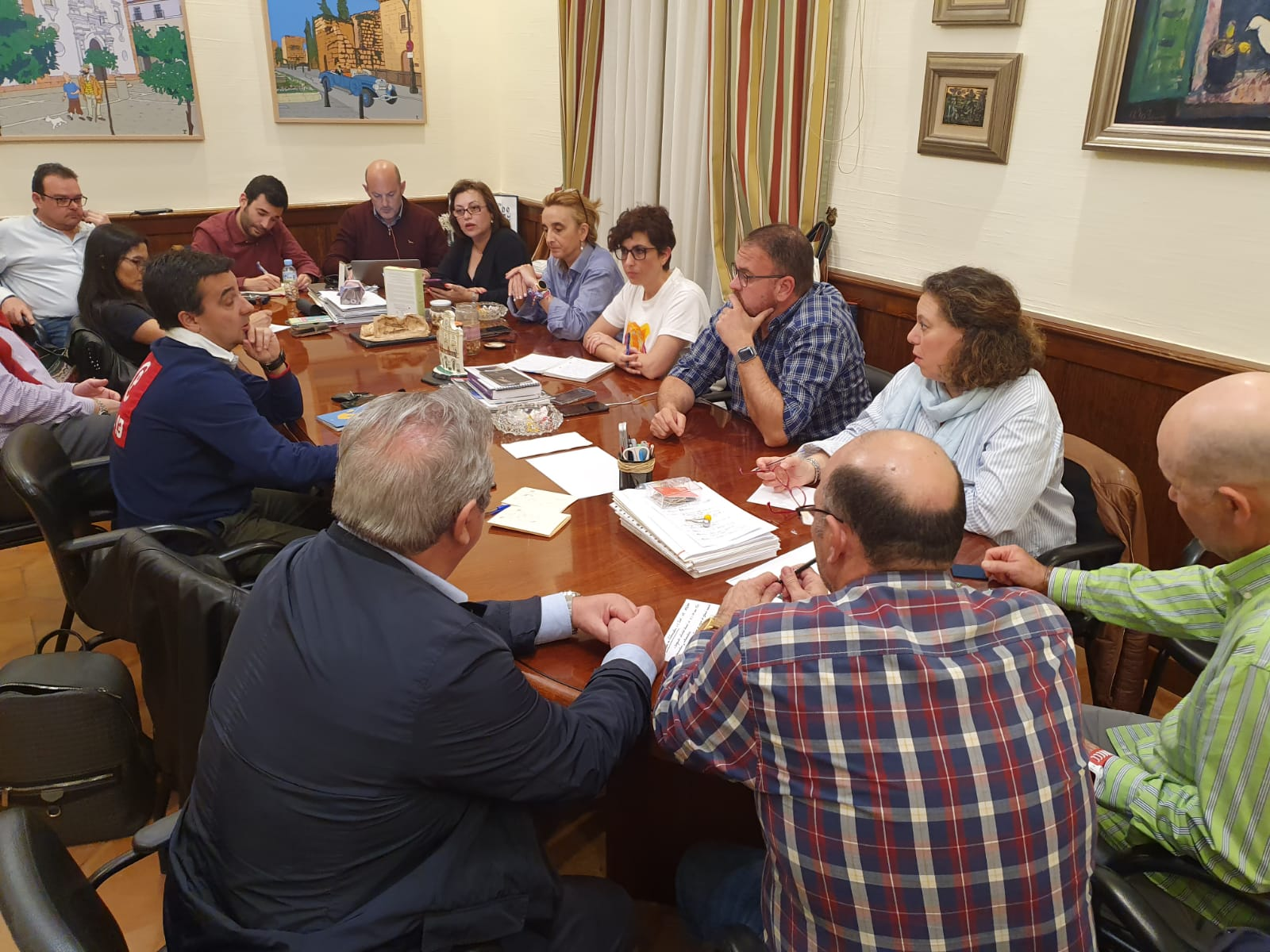 Reunión alcalde- gobierno crisis coronavirus