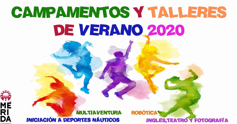 El lunes se abre el plazo para dos nuevas actividades estivales que se desarrollarán en julio y agosto en Mérida
