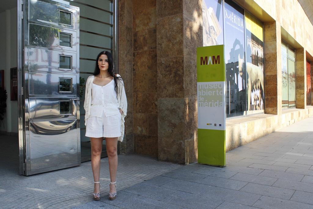 Pilar Amor en el nuevo punto de atención turística MAM