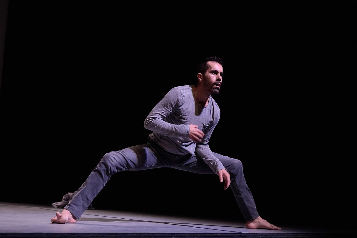 El bailarín Daniel Abreu protagoniza «En la naturaleza» dentro de La Noche del Patrimonio