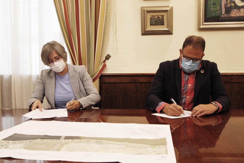 Firmado el convenio de financiación de la segunda fase de la obra de desdoblamiento de la Avenida del Río