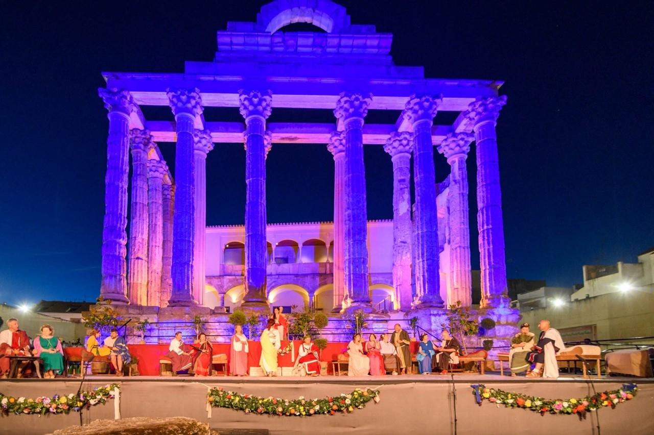 Turismo aplaza el evento de recreación romana previsto para este fin de semana por no poder desarrollar los ensayos con más de seis personas