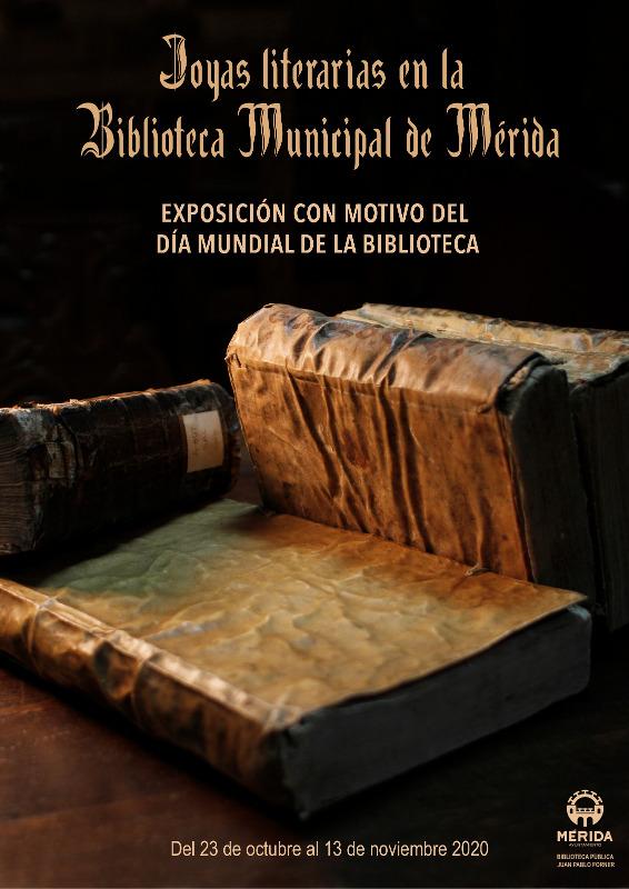 Cartel Día Internacional Biblioteca