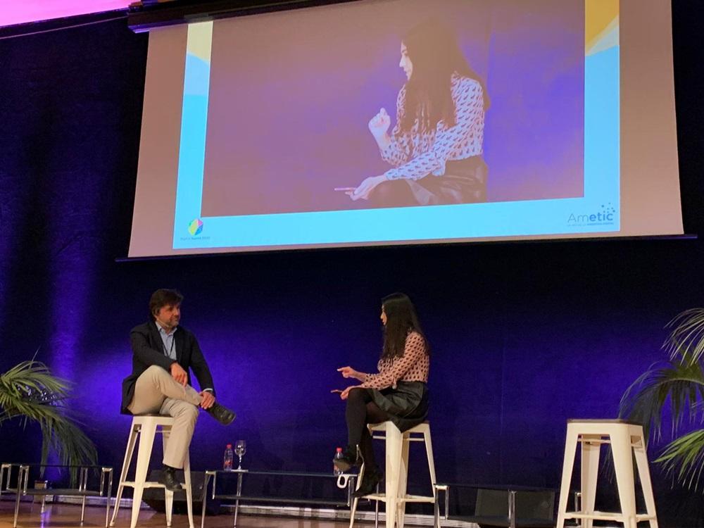 Pilar Amor en el Congreso Digital Tourist
