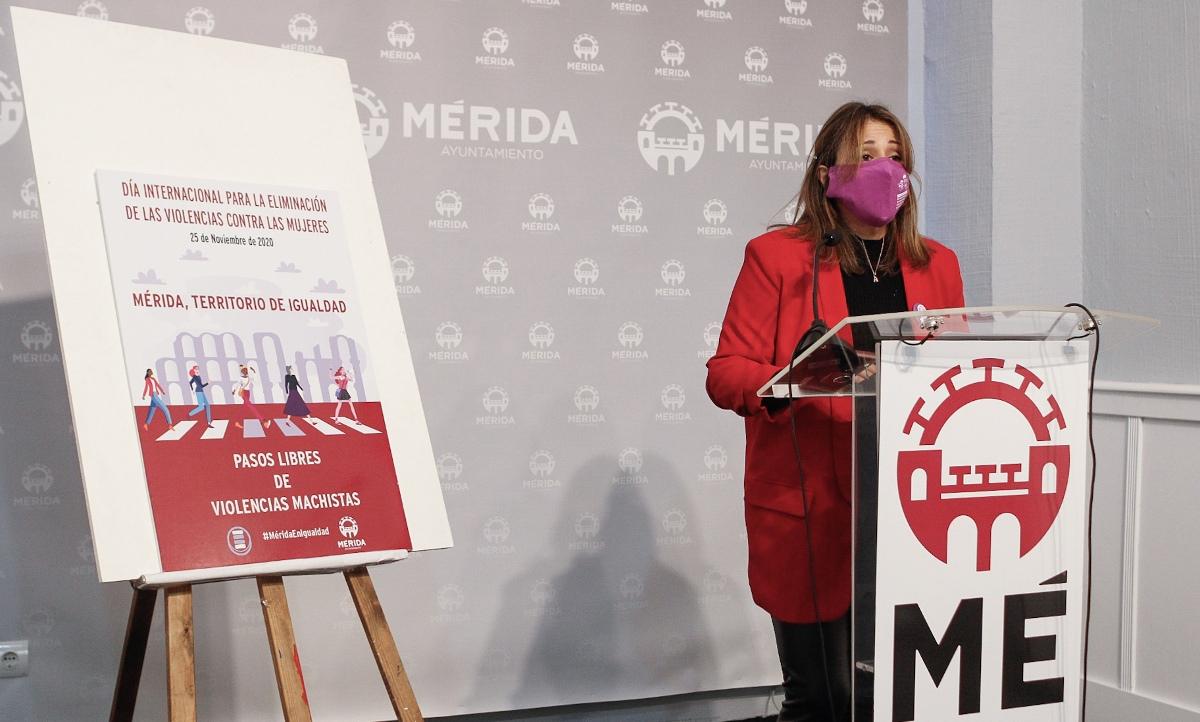 """Comienza la campaña """"Mérida, territorio de igualdad"""", en el marco del Día Internacional para la Eliminación de las Violencia contra las Mujeres"""