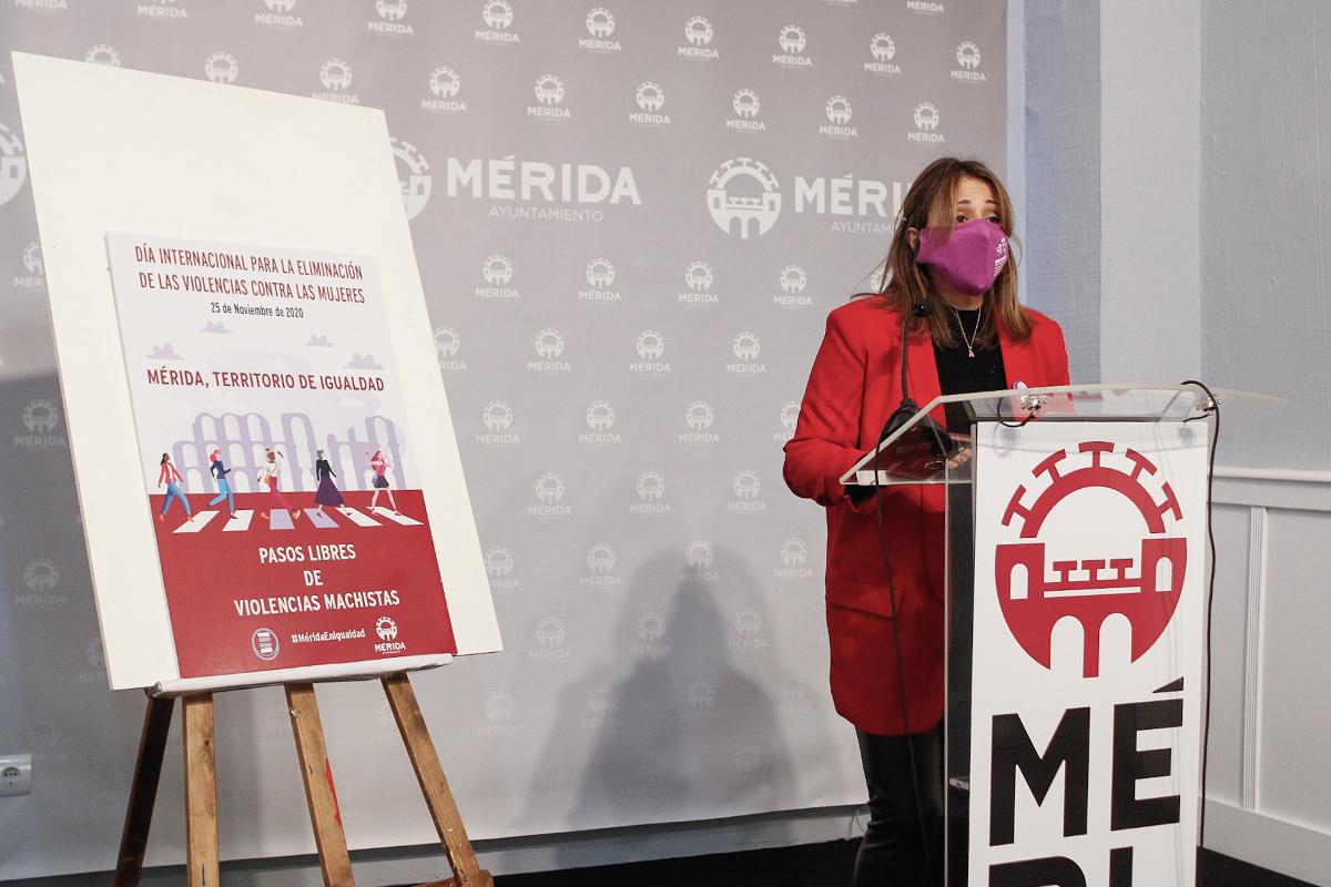 Ana Aragoneses presenta Mérida territorio iguladad