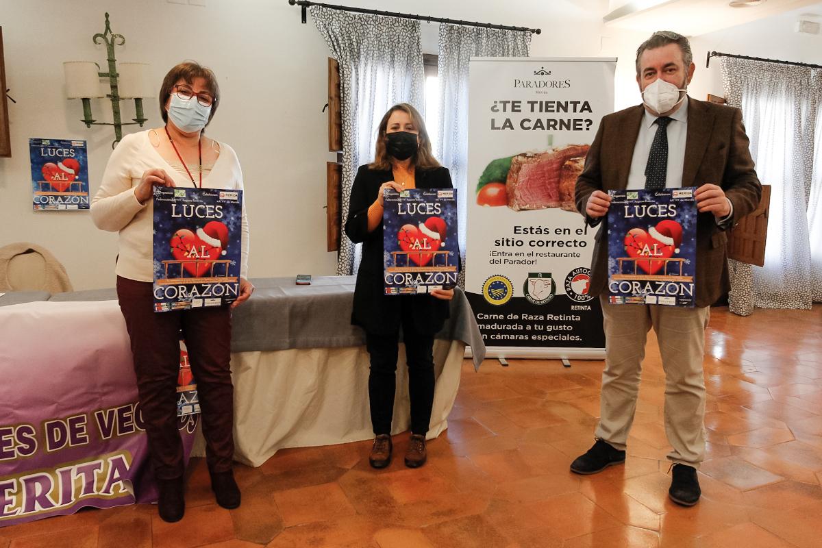 Presentación de la campaña con Daniel Delamo Ana Aragoneses y Mari Ángeles Romero