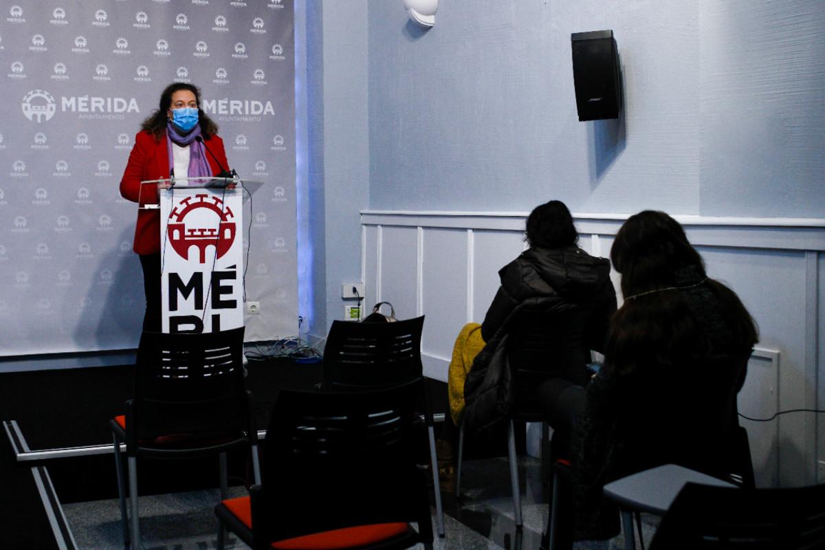 Rueda de prensa Carmen Yáñez