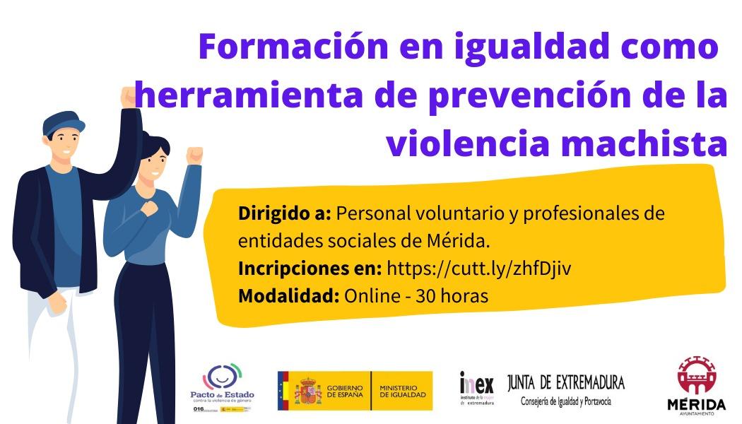 Curso prevención violencia machista