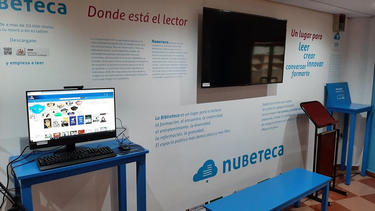 La Biblioteca Juan Pablo Forner inaugura hoy su Espacio Nubeteca