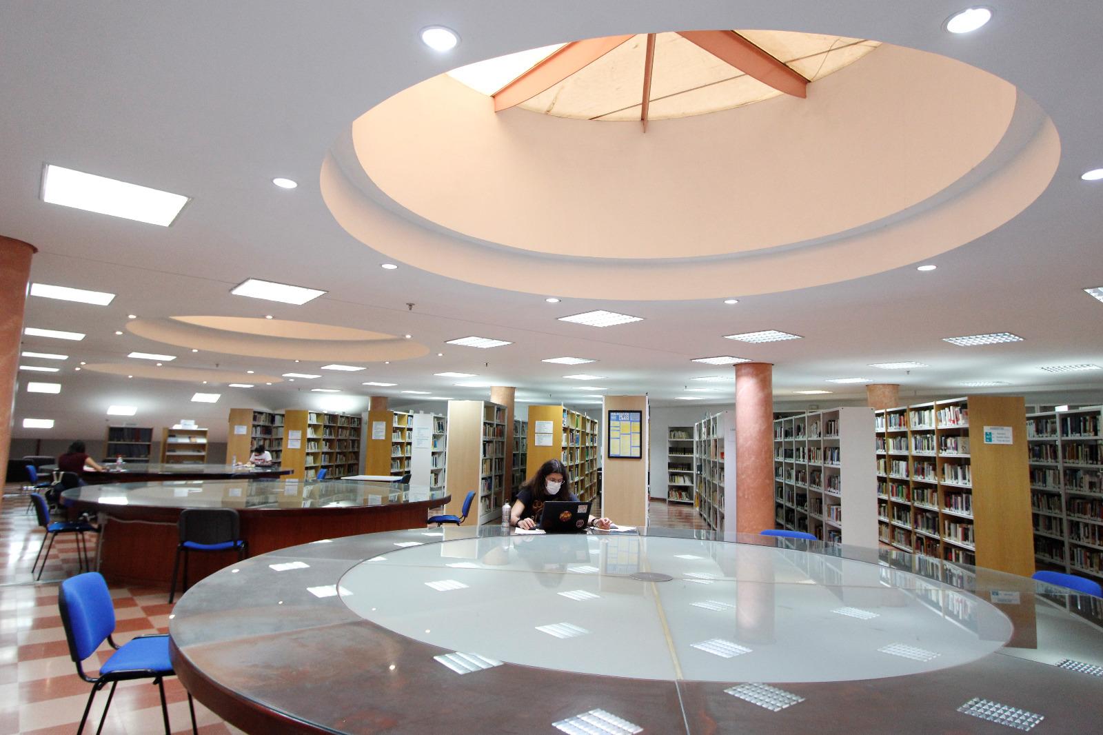 La Biblioteca Juan Pablo Forner registra una media de 110 usuarios al día