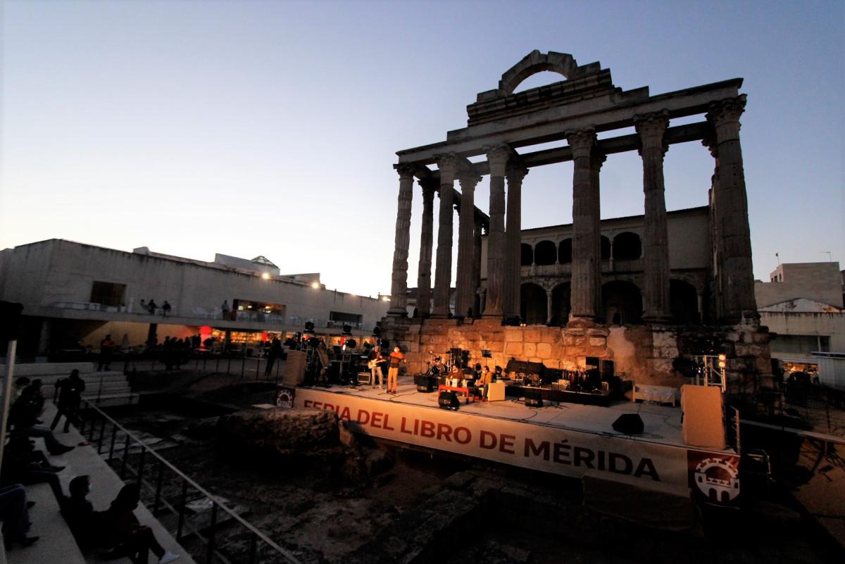 La Feria del Libro se celebrará en el Templo de Diana y ofrecerá más espacios para las librerías y actividades para todos los públicos
