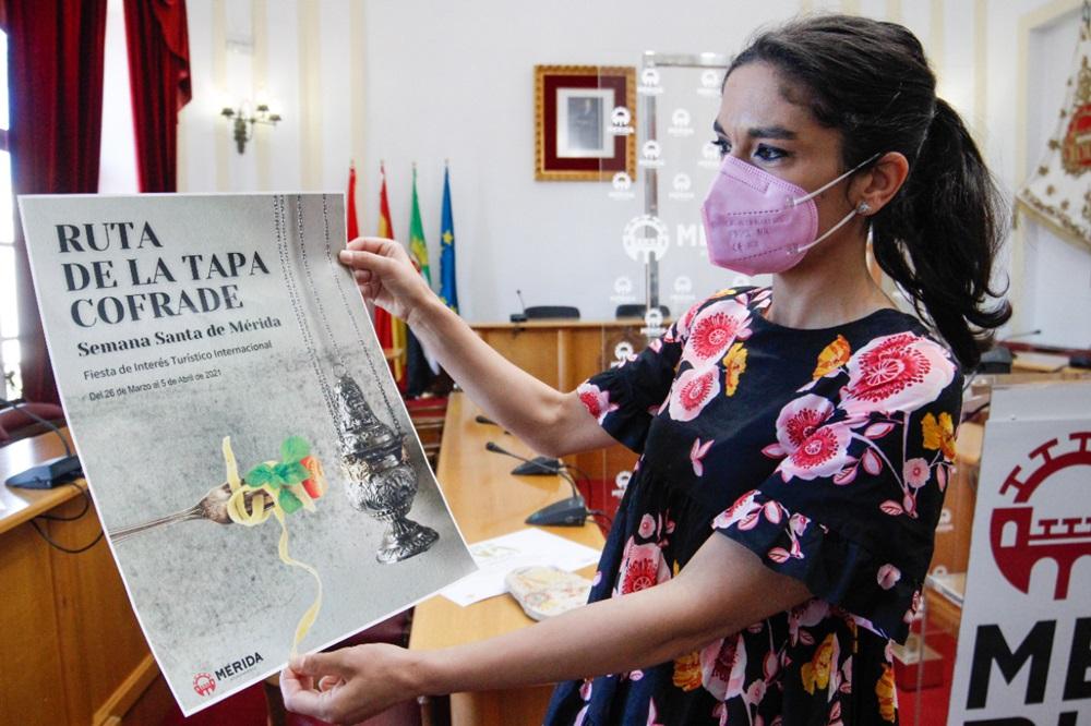 Mérida estrenará su primera Ruta de la Tapa Cofrade durante esta Semana Santa