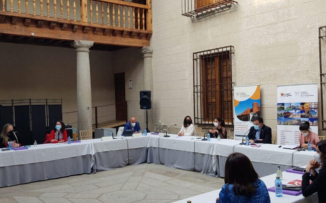 El Ayuntamiento de Mérida presenta ante el GCPHE un proyecto de accesibilidad cognitiva