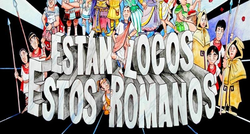 Las delegaciones municipales de Cultura y Diversidad Funcional e Inclusión programan el próximo sábado, 17 de abril, a las 19 horas, el espectáculo 'Están locos estos romanos' en el Centro Cultural Nueva Ciudad.