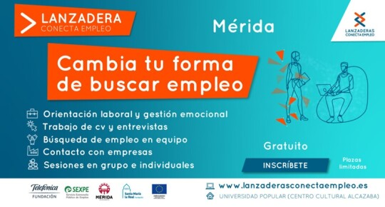 Lanzadera Conecta Empleo Mérida 2021