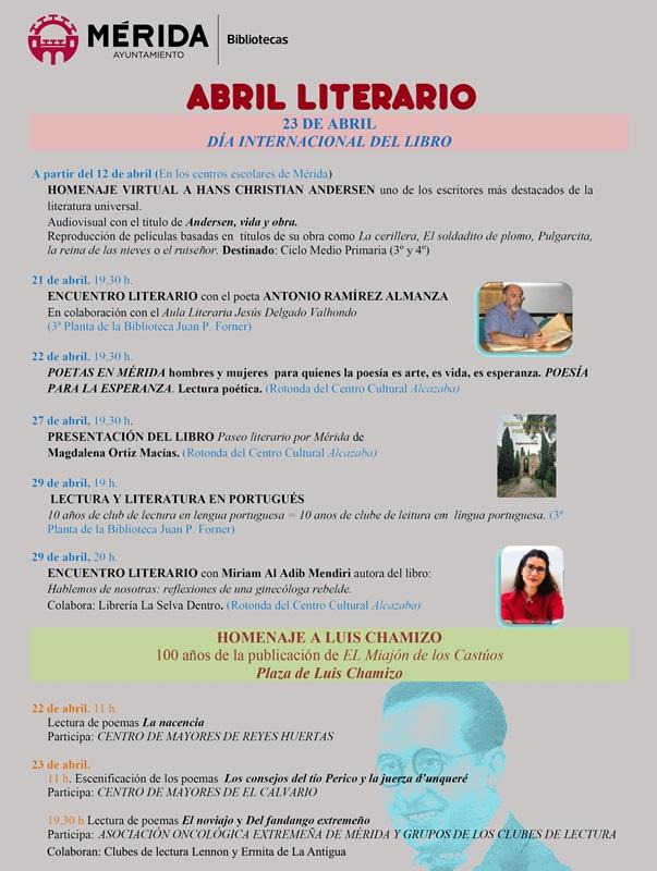 CARTEL ABRIL LITERARIO 2