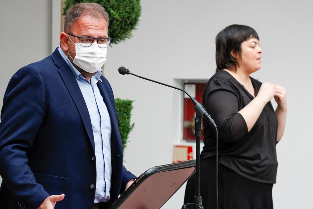 Intervención del alcalde en el acto del CERMI