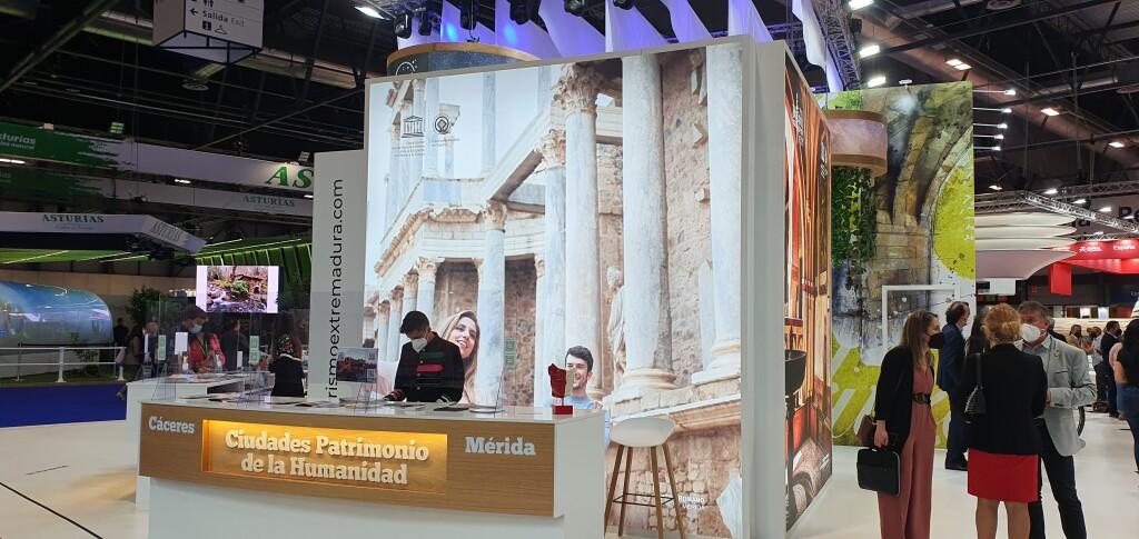 Mérida inicia su actividad promocional en una edición de FITUR que se marca como objetivo la recuperación del sector