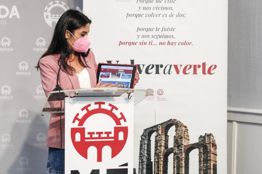 Mérida se presenta en FITUR con una oferta única en festivales, cultura y ocio
